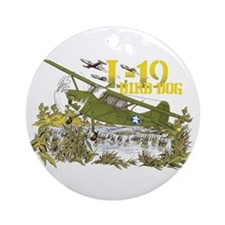 L-19 BIRD DOG Ornament (Round)