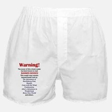 Nook Sleeve - Banned Books Boxer Shorts