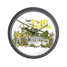 L-19 BIRD DOG Wall Clock