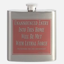 Lethal Force Flask