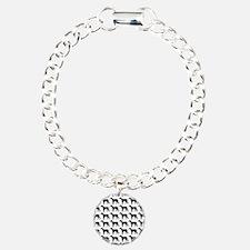 Greyhound Silhouette Fli Bracelet