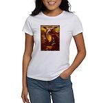 Mona Lisa Deer #1A Women's T-Shirt