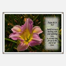 Psalm 90:14 Banner