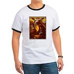 Mona Lisa Deer #1A Ringer T