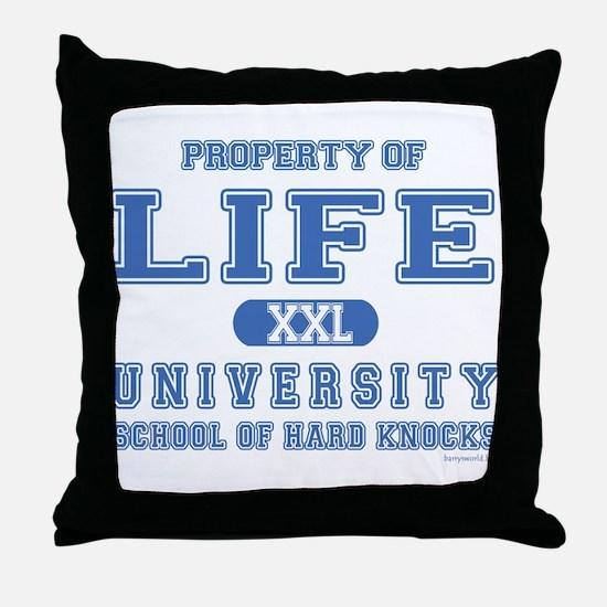 Hard Knocks Throw Pillow