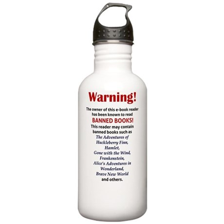 Kindle Sleeve - Banned Stainless Water Bottle 1.0L