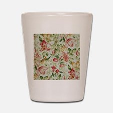 Floral Shot Glass