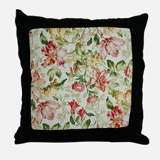 Floral Throw Pillow
