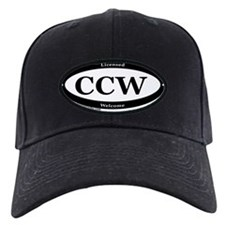 CCW Welcome, Black & White Baseball Hat