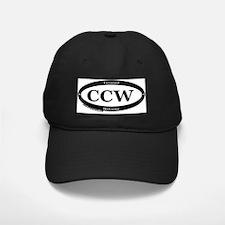 CCW Welcome, Black & White Baseball Hat