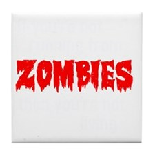 Zombies Tile Coaster