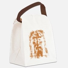 Jesus, Shroud of Turin Canvas Lunch Bag