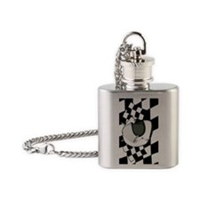 HelmetFlagsiTouch Flask Necklace
