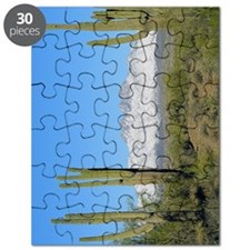 Snowy Four Peaks with Border Puzzle