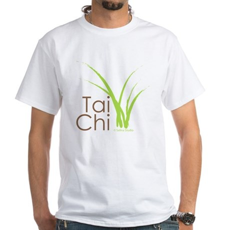 tai chi growth 6 White T-Shirt