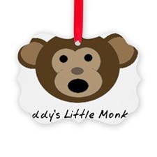 Daddys Little Monkey Ornament