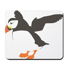 Puffin with Wings Mousepad