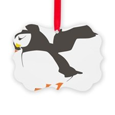 Puffin with Wings Ornament