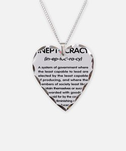 Ineptocracy Necklace