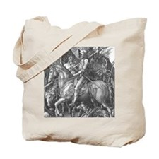 Albrecht Durer Knight Death and the Devil Tote Bag