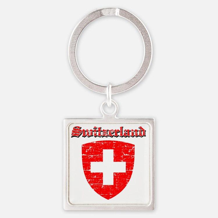 Swiss designs Square Keychain
