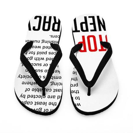 Stop Ineptocracy Flip Flops