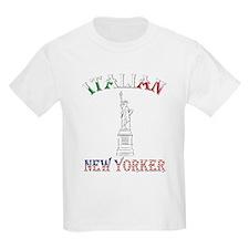 Italian New Yorker - Lib Kids T-Shirt