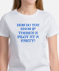 Pilot At A Party Tee