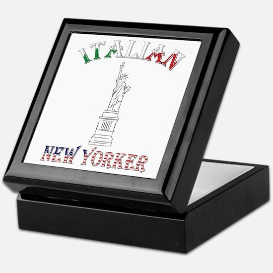 Italian New Yorker - Lib Keepsake Box