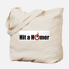 Hit a Homer Tote Bag