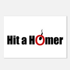 Hit a Homer Postcards (Package of 8)