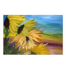 Sunflower Field Postcards (Package of 8)