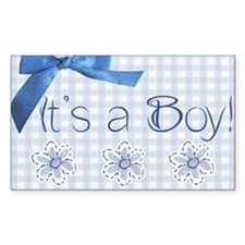 Is a Boy Decal