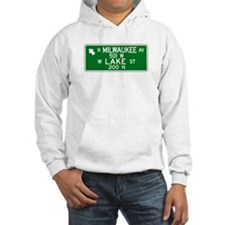 Milwaukee Ave.-Lake St., Chicago (US) Hoodie