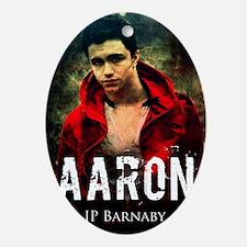Aaron Oval Ornament