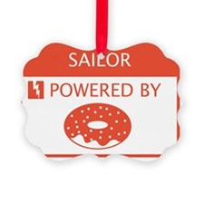 Sailor Powered by Doughnuts Ornament
