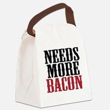 Needs More Bacon Canvas Lunch Bag