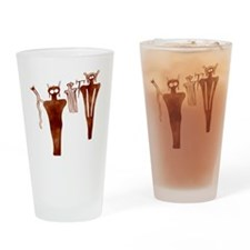 Sego Aliens Drinking Glass