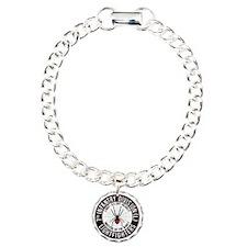 2012 Black Widow Design Charm Bracelet, One Charm