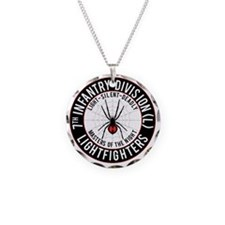 2012 Black Widow Design Necklace