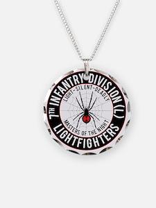 2012 Black Widow Design Necklace