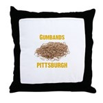 Gumbands Throw Pillow