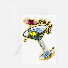 Fish and Tonic Greeting Card
