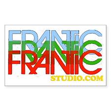 Iconic Avante Garde Frantic St Decal