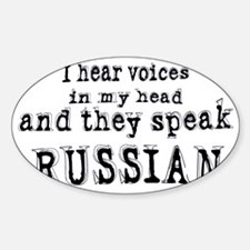 I hear voices Decal