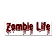 Zombie Life Car Magnet 10 x 3