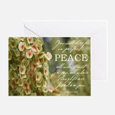 Perfect Peace Greeting Card