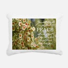 Perfect Peace Rectangular Canvas Pillow
