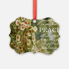 Perfect Peace Ornament