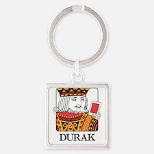 Durak King Square Keychain